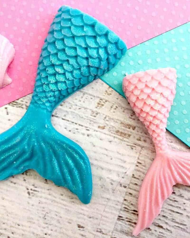 How To Make A Chocolate Mermaid Tail