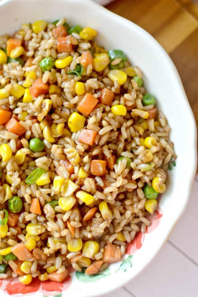 Easy To Make Veggie Fried Rice