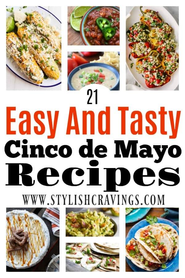 21 Easy & Tasty Recipes For Cinco de Mayo