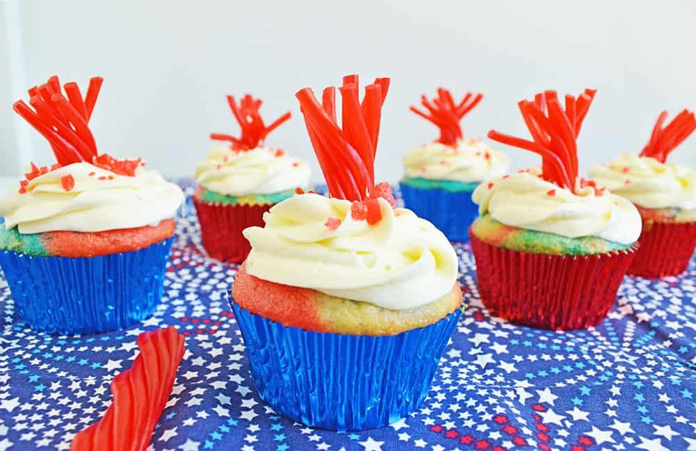 Fireworks Cupcakes Recipe