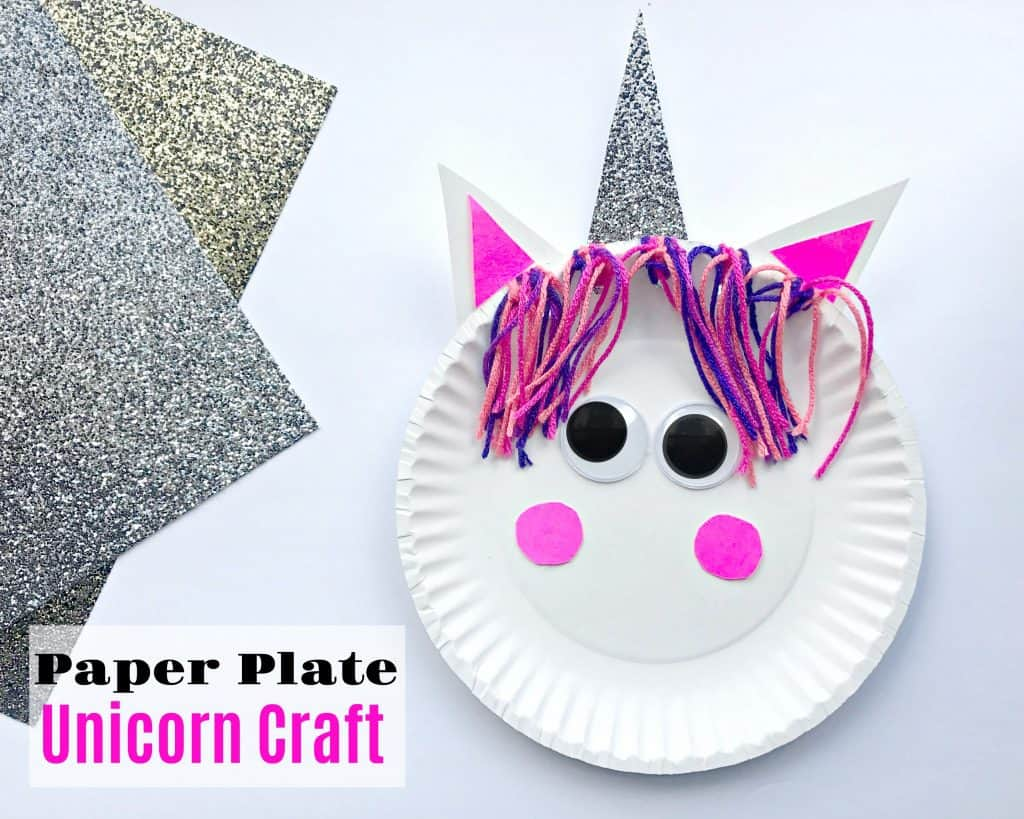 Paper Plate Unicorn Craft Stylish Cravings Easy To Make Crafts