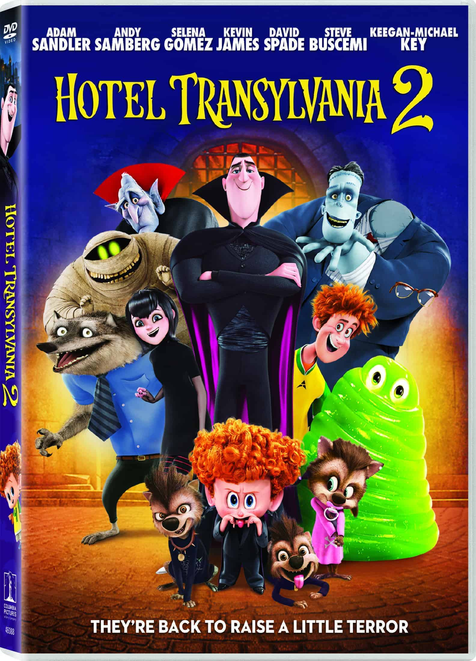 Win Hotel Transylvania & Hotel Transylvania 2 On DVD