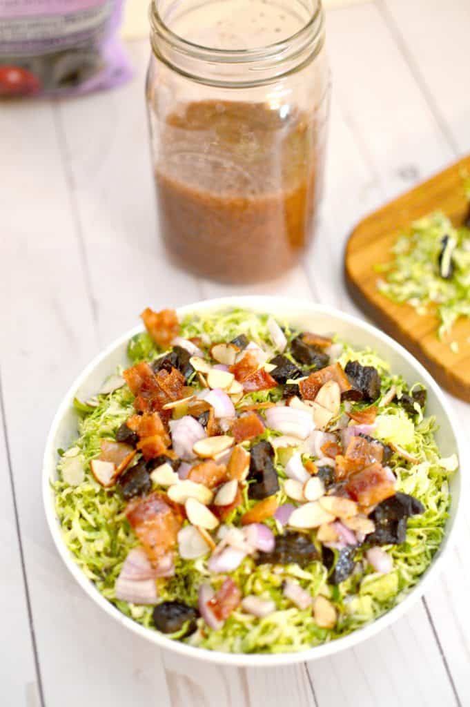 Chopped Brussel Sprouts Salad