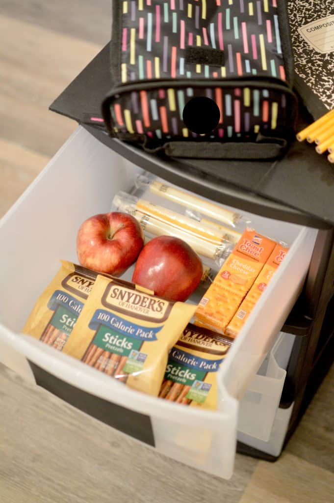 DIY Lunch Box Station