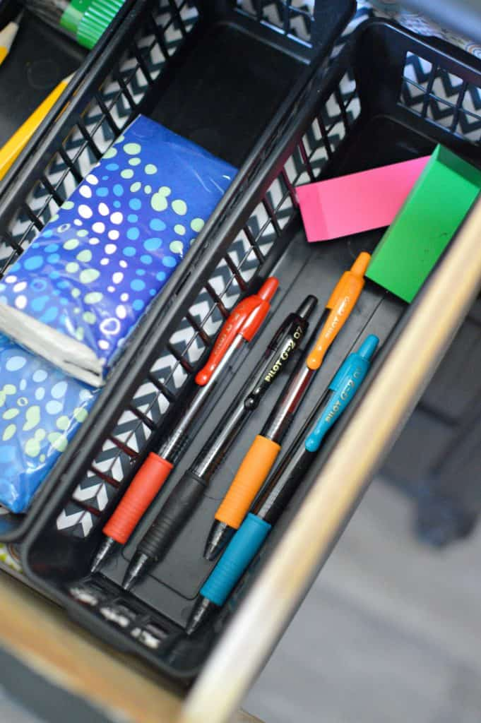 DIY Desk Drawer Organizer