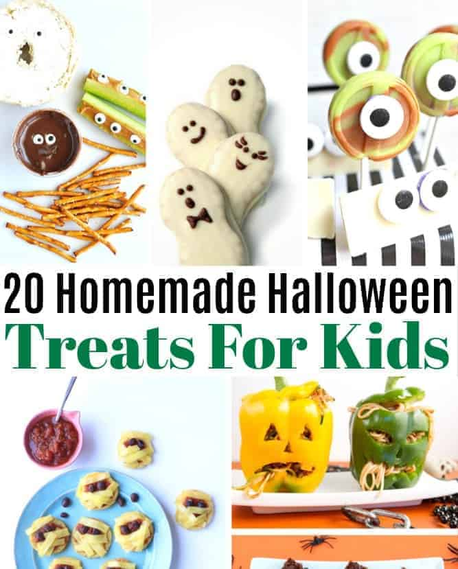 20 Homemade Halloween Treats for Kids