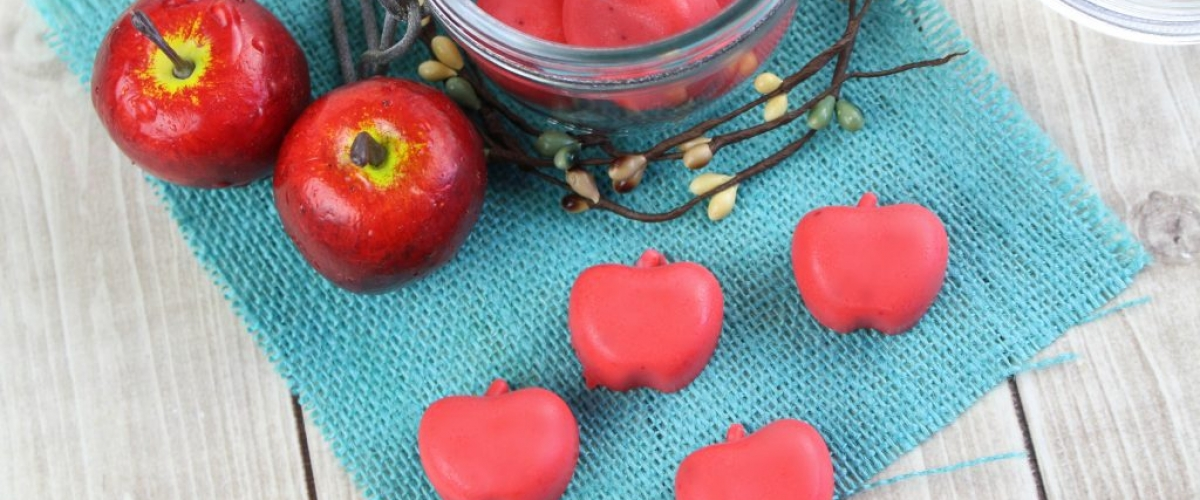 DIY Apple Scented Lotion Bars