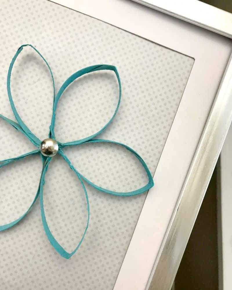 DIY Paper Towel Roll Flower