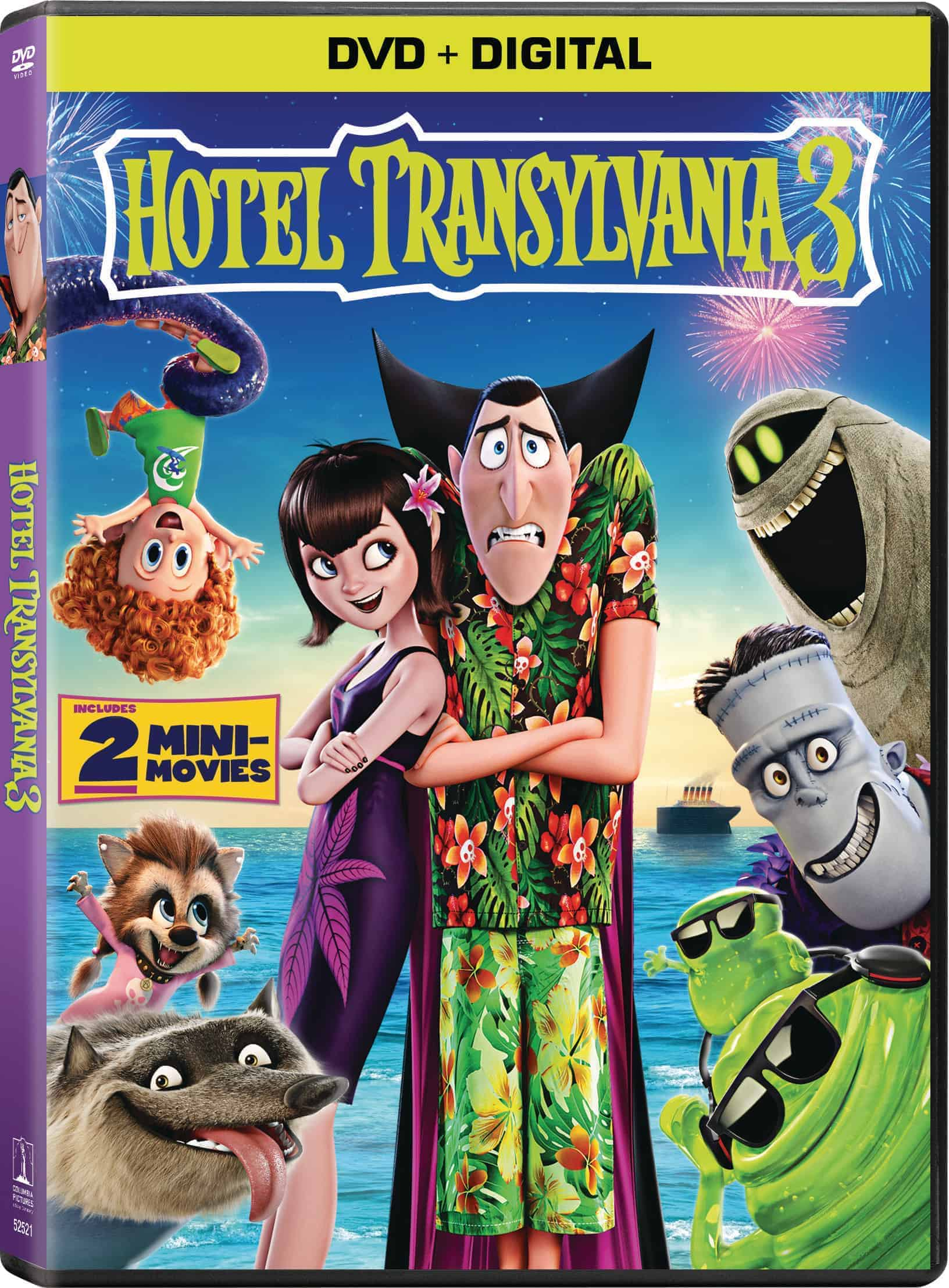 Win Hotel Transylvania 3 On DVD + Trick-Or-Treating Pillowcase