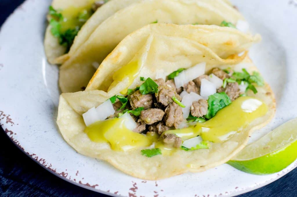 Easy Instant Pot Street Tacos
