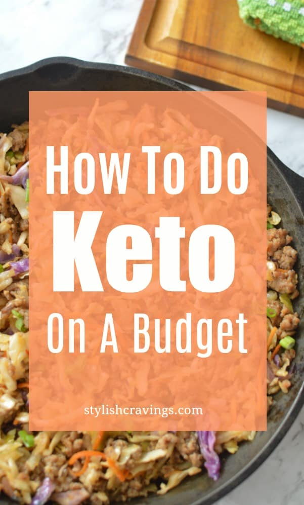 How To Do Keto On A Budget