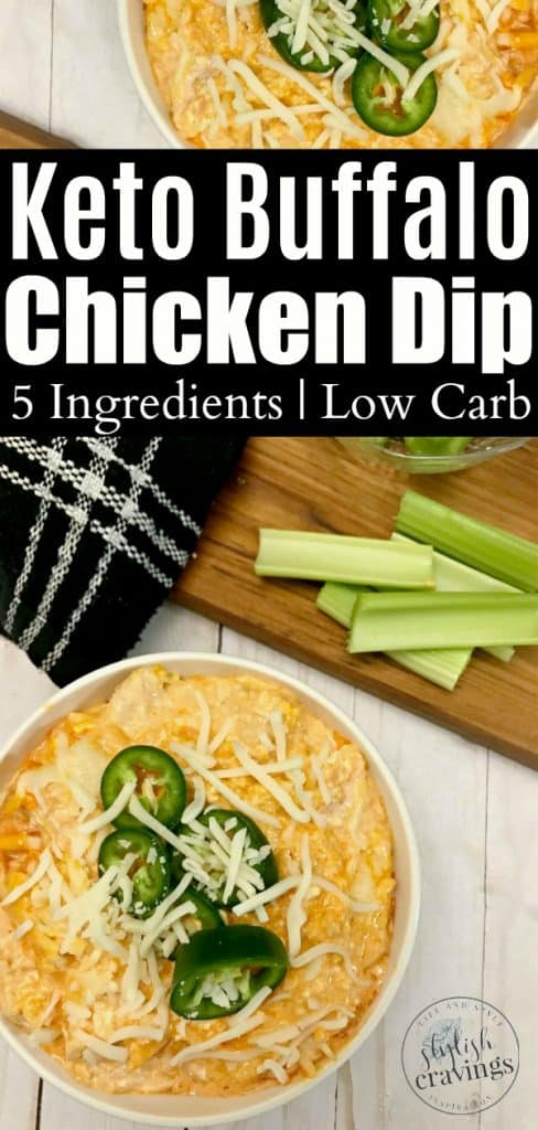 Easy Keto Buffalo Chicken Dip