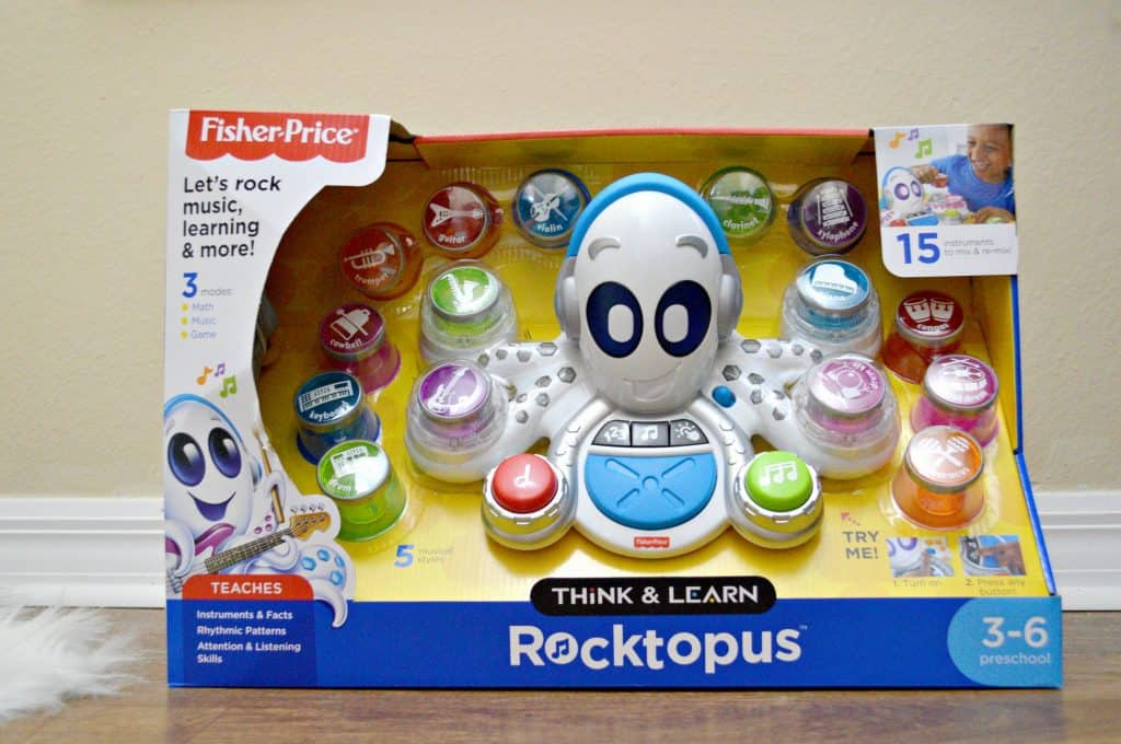 Meet Rocktopus The Musical Toy For Kids to Think & Learn