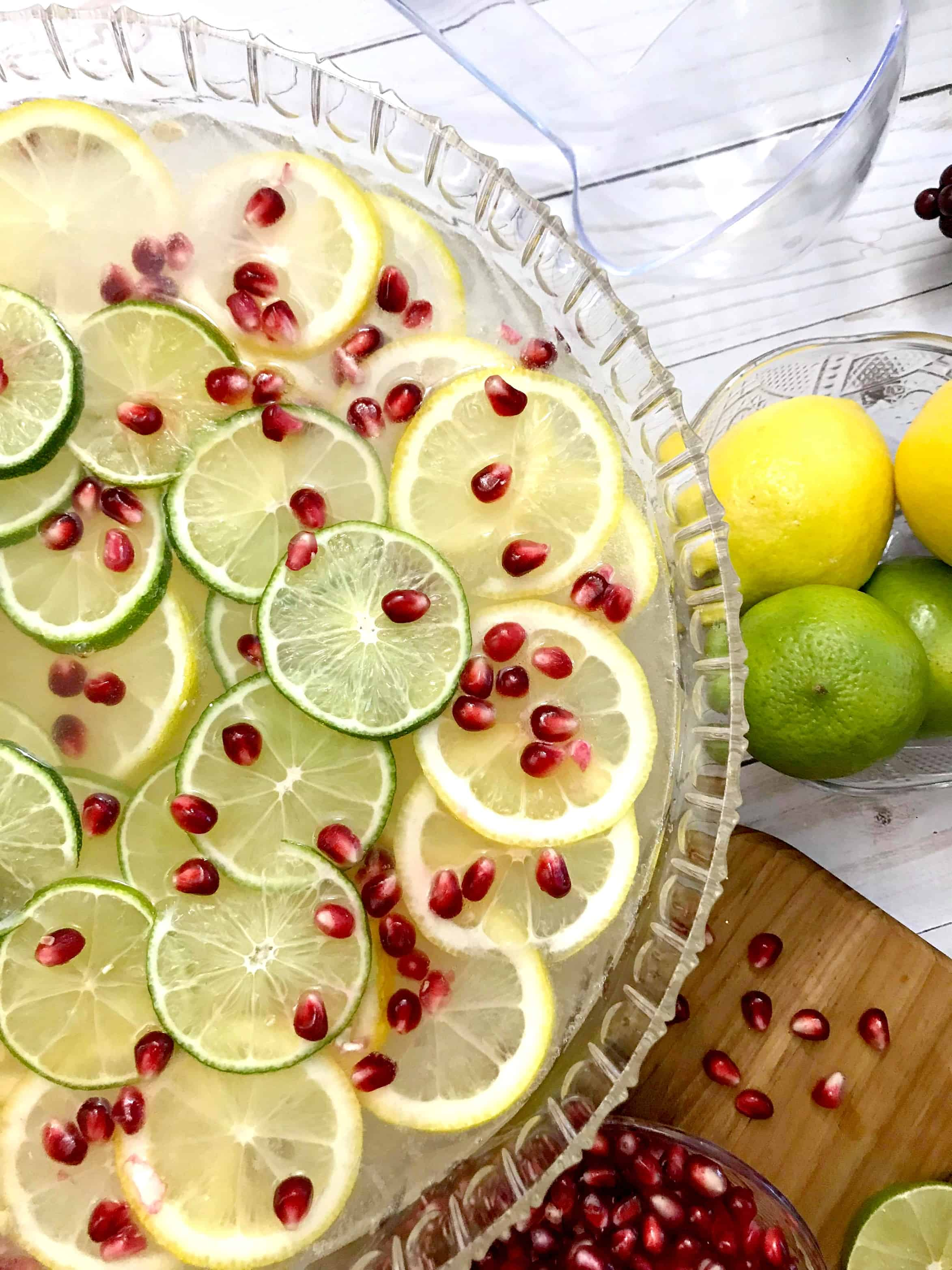 Citrus Pomegranate Holiday Punch