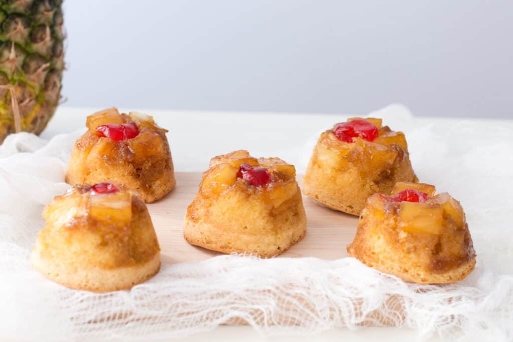 Easy Individual Pineapple Upside Down Cakes