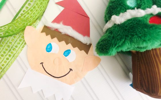 Easy Elf Craft