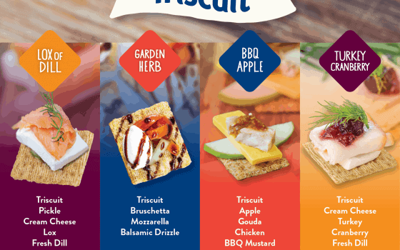 Easy To Make Holiday Appetizers With Triscuit