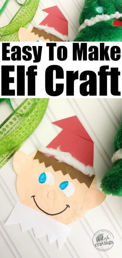 Easy Elf Craft