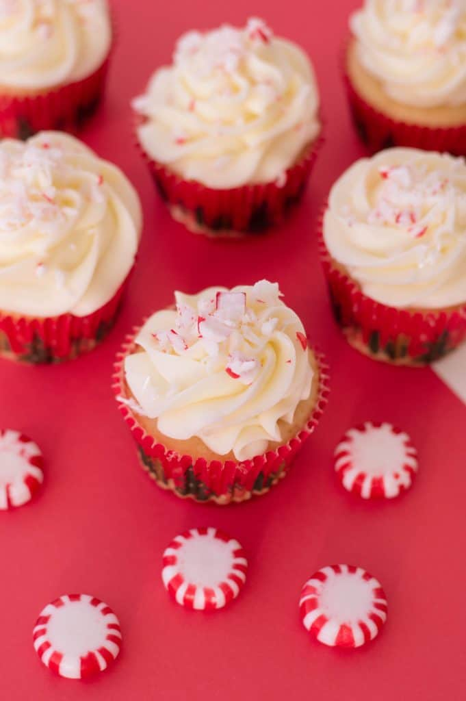 Easy Peppermint Cupcakes