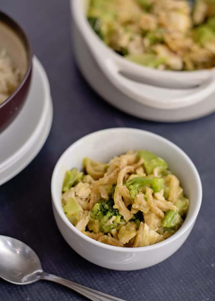 Cheddar Chicken Broccoli Casserole