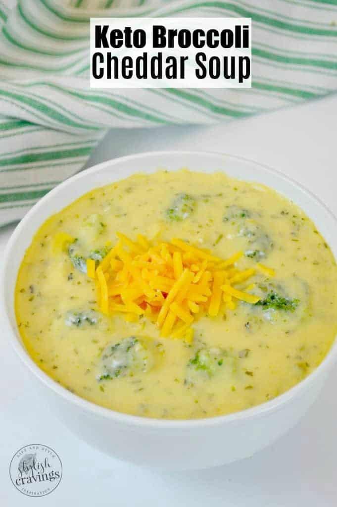 Keto Broccoli Cheddar Soup