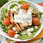 Low Carb Greek Chicken Bowl