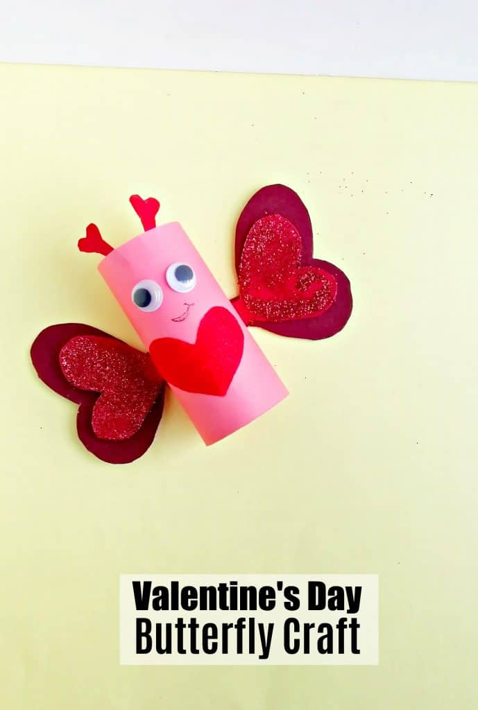 Valentine's Day Butterfly Craft