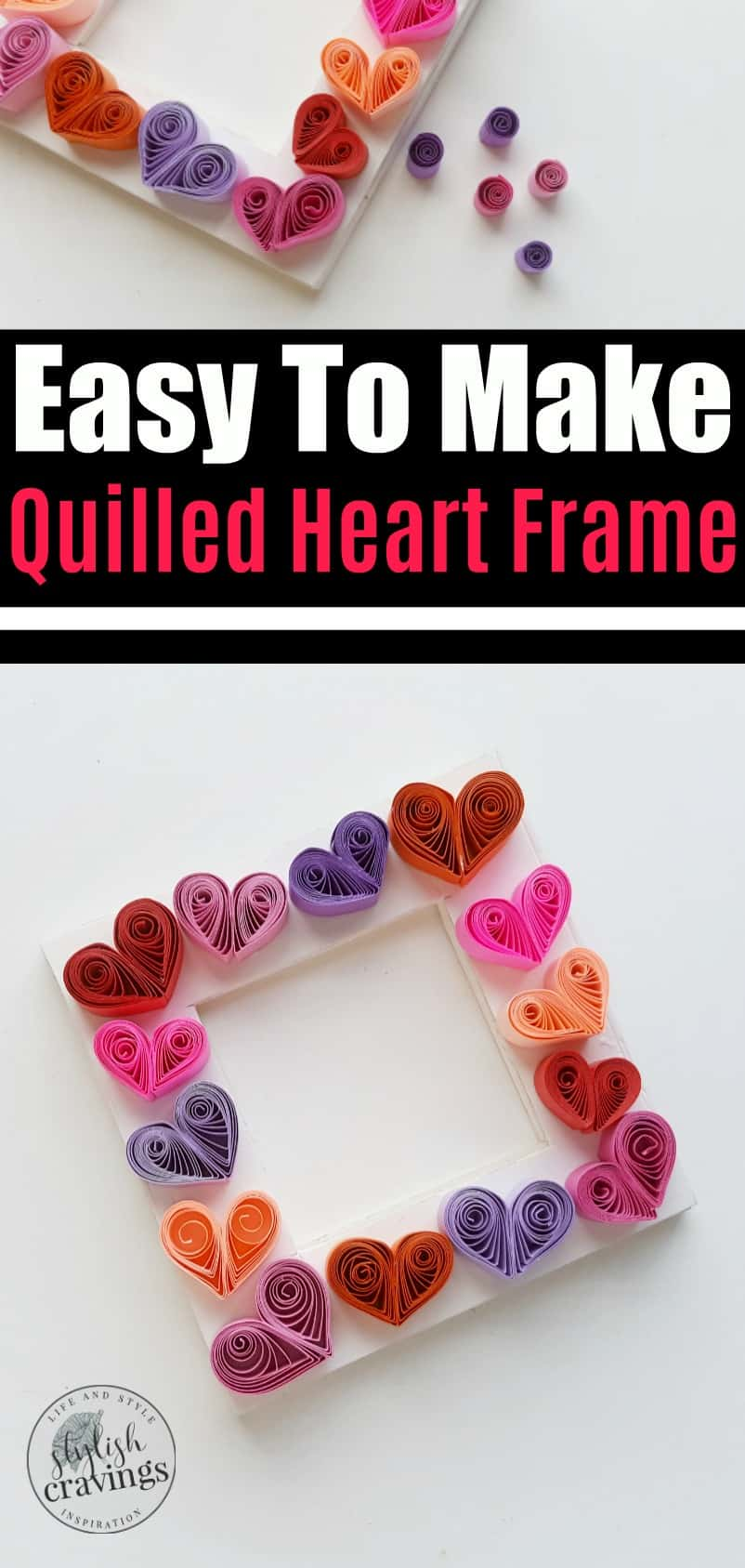 Quilled Heart Frame