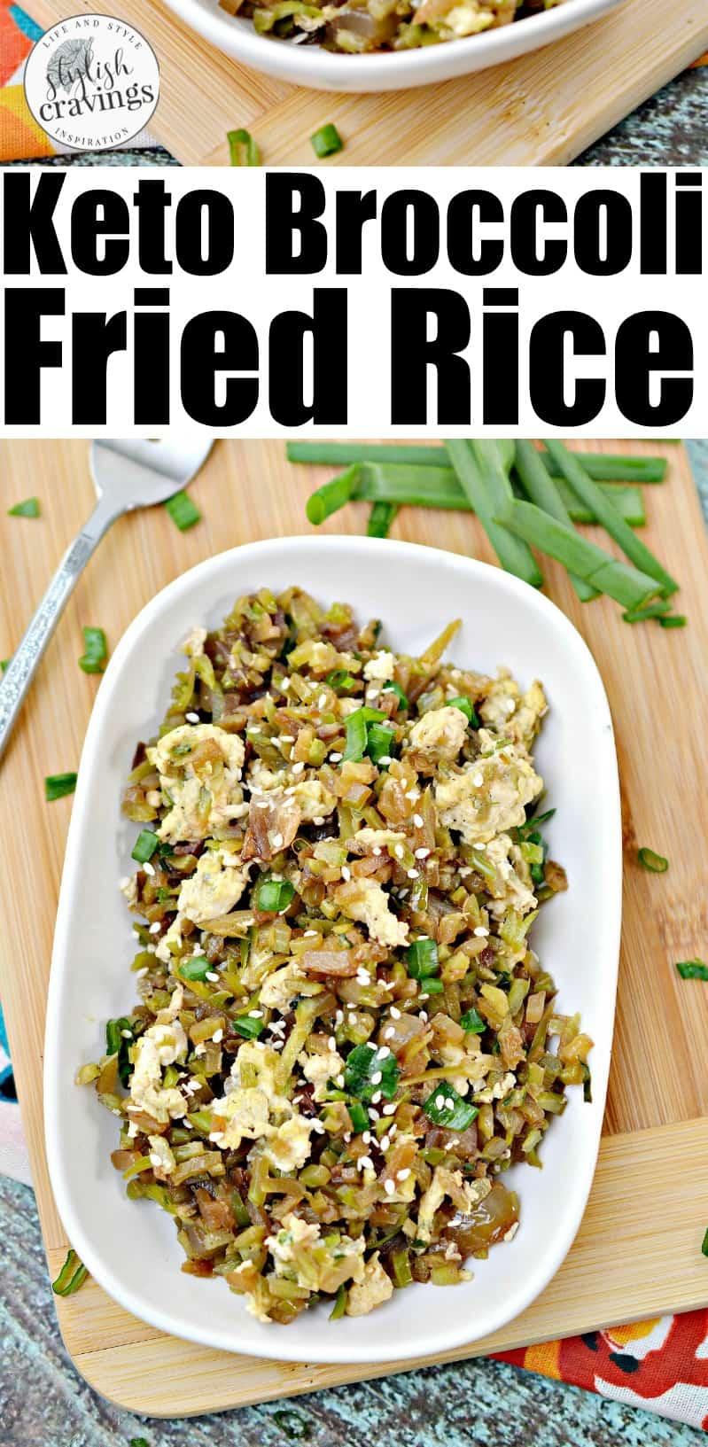 Keto Broccoli Fried Rice
