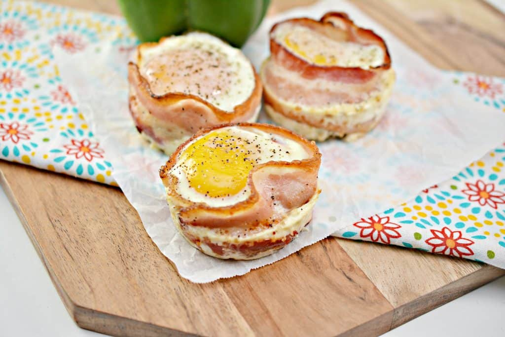 Keto Bacon Egg Cups