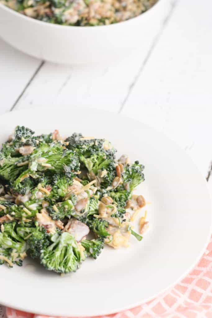 Easy Keto Broccoli Salad