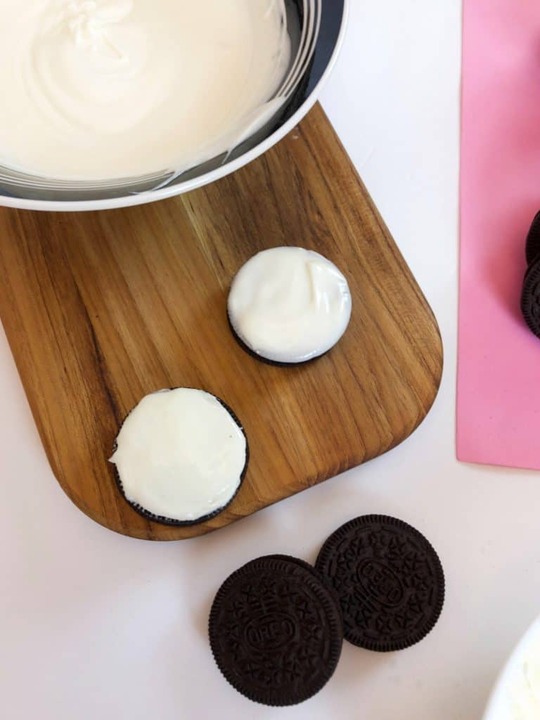 Chocolate Dipped Oreo Cookies
