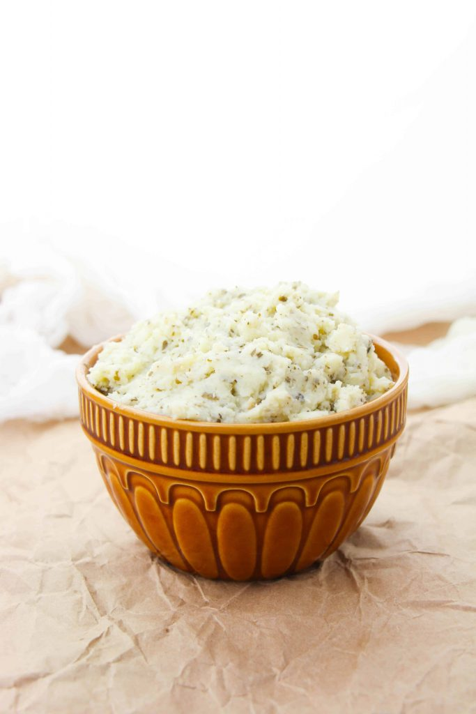 Keto Cauliflower Mashed Potatoes