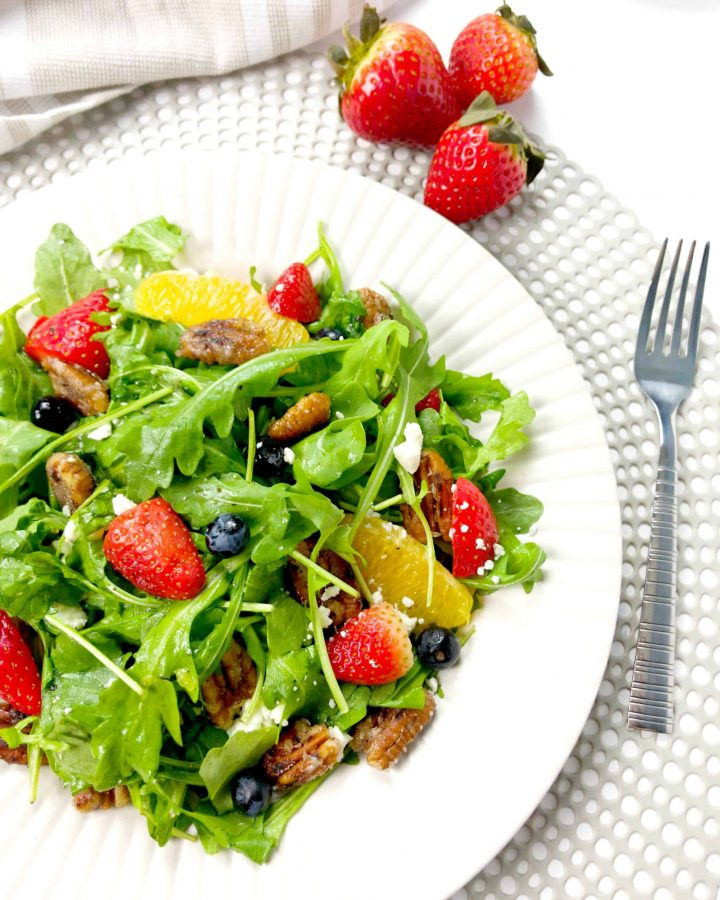 Arugula Berry Citrus Salad