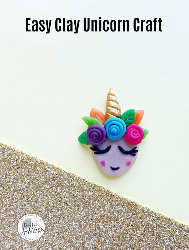 Easy Clay Unicorn