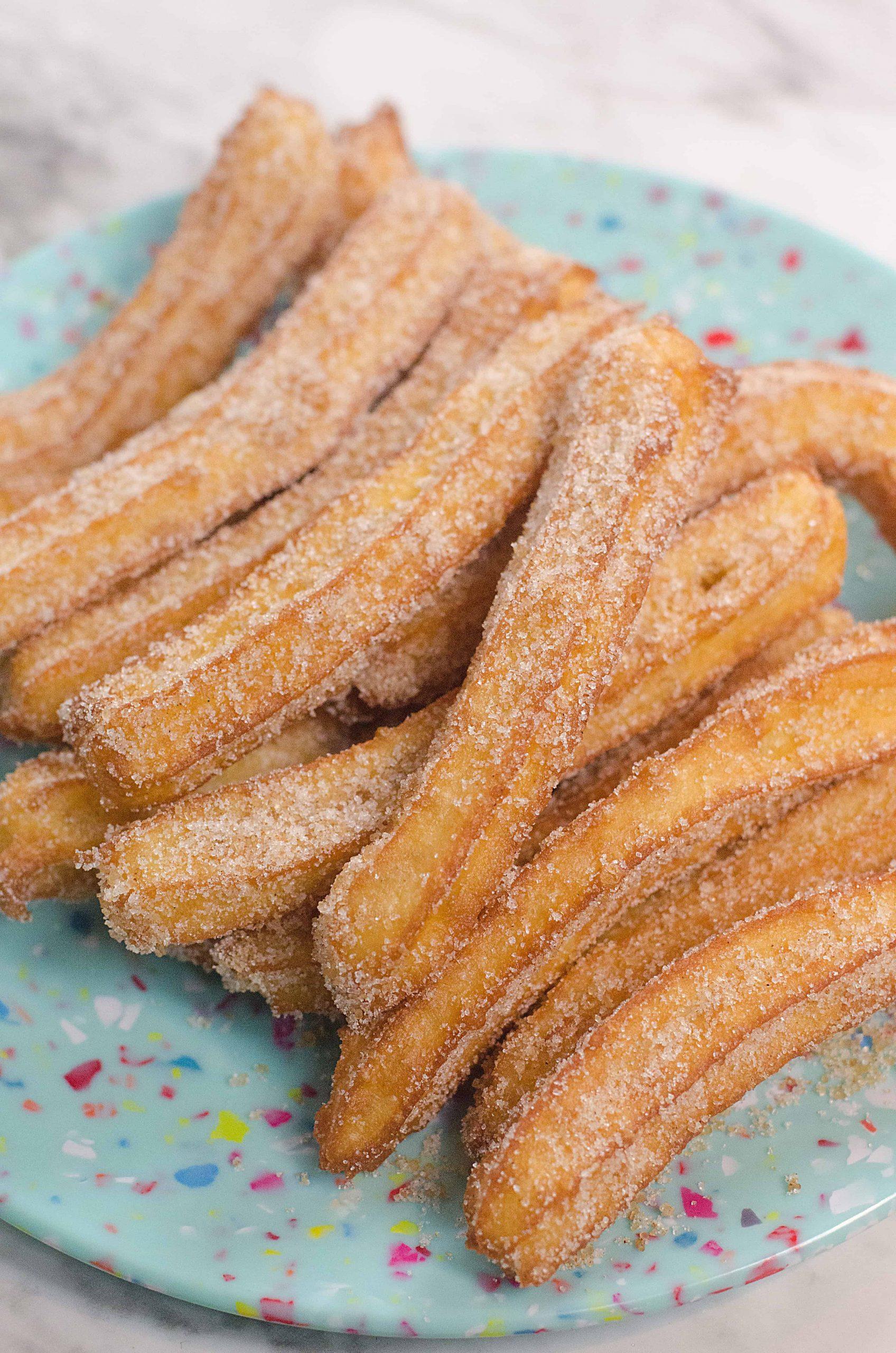Easy Churros Recipe Stylish Cravings Easy Recipes