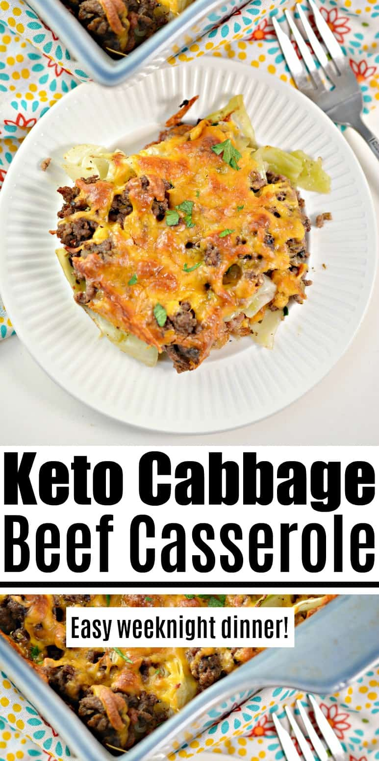 Keto Cabbage Beef Casserole - Easy Weeknight Dinner