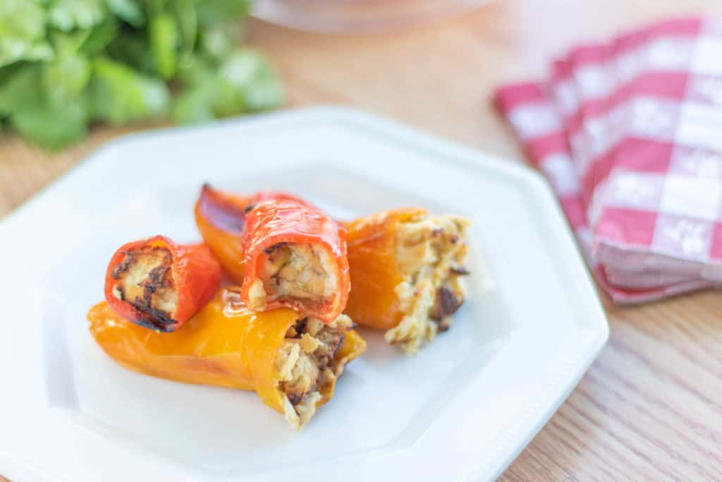 Low Carb Stuffed Sweet Peppers