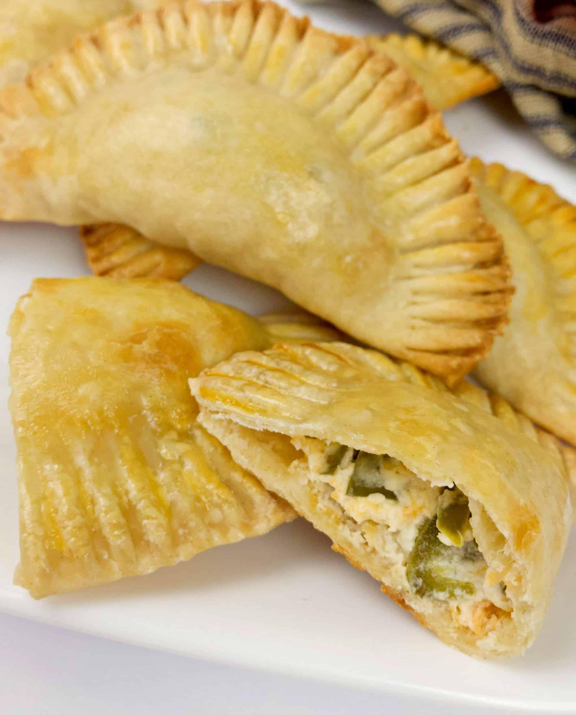 Jalapeno Popper Empanadas