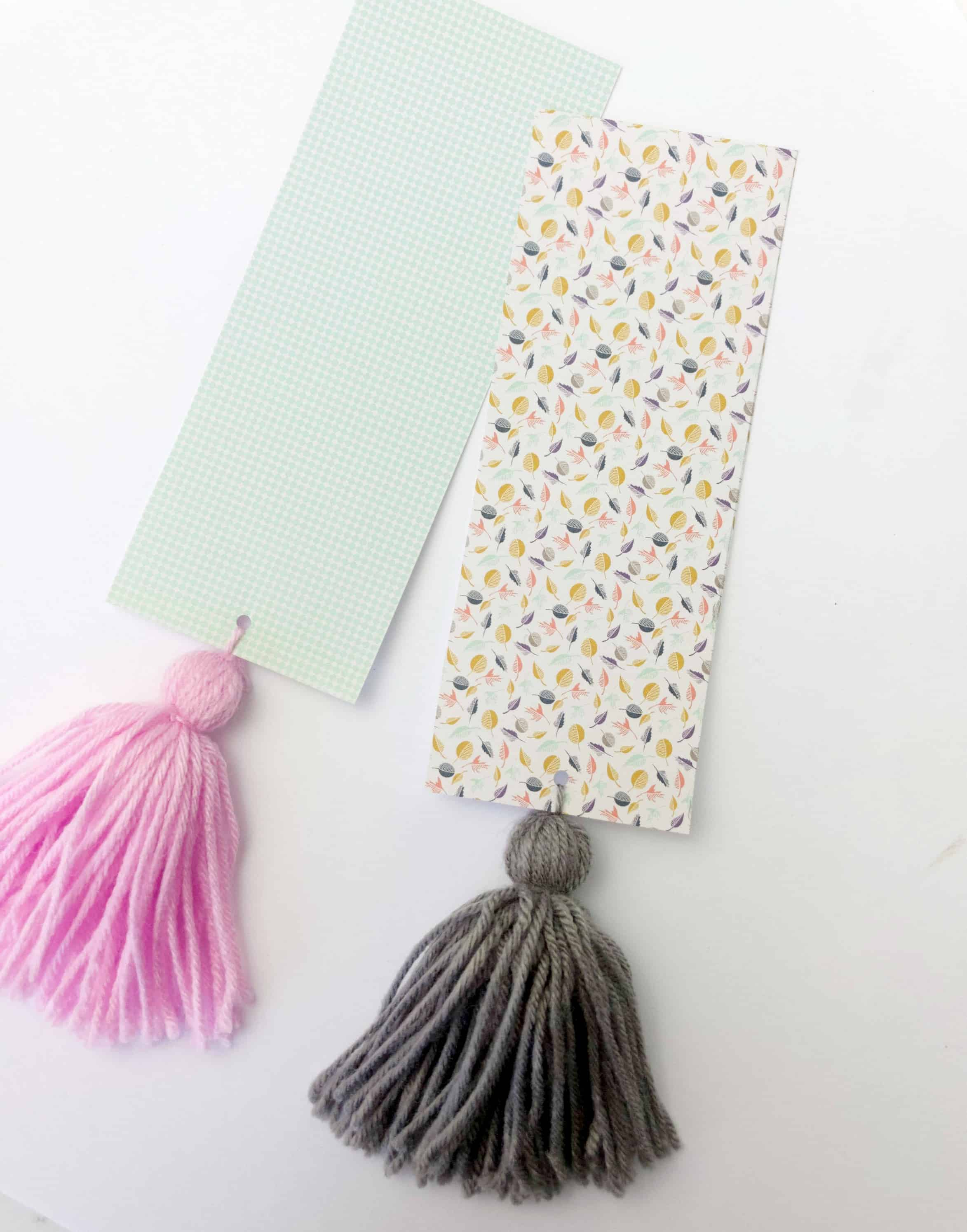 Easy DIY Tassel Bookmark + New Book Review