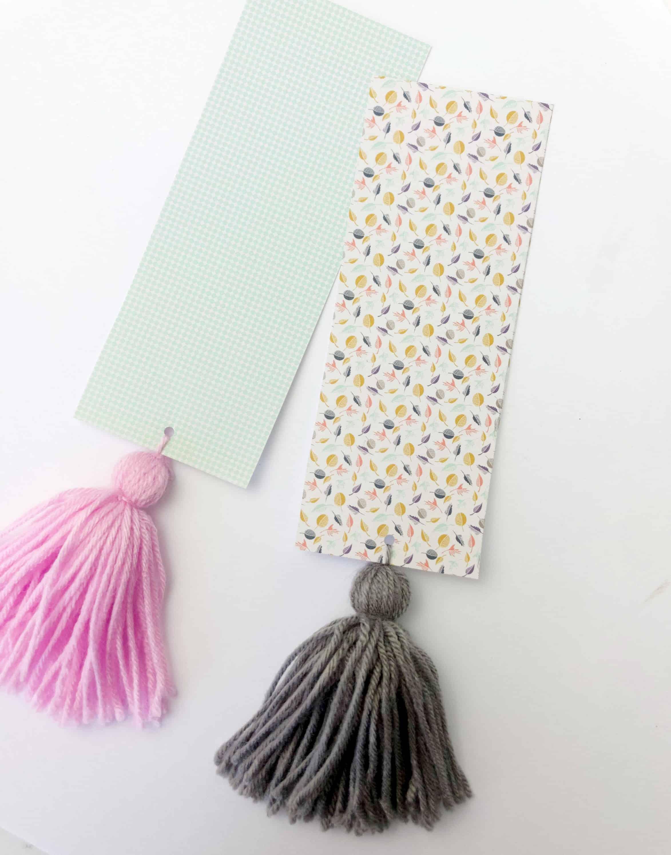Easy DIY Tassel Bookmark + New Book Review