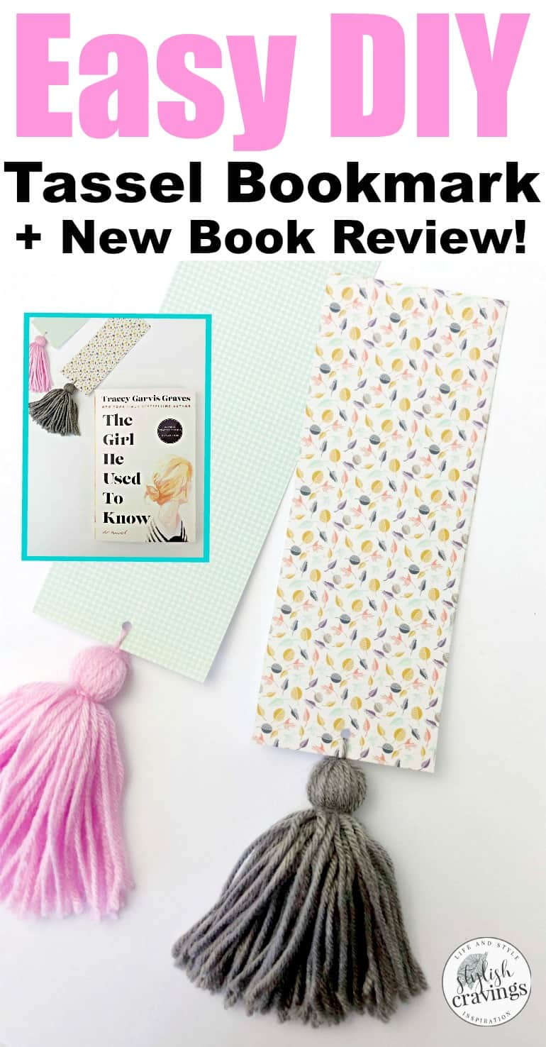 Easy DIY Tassel Bookmark