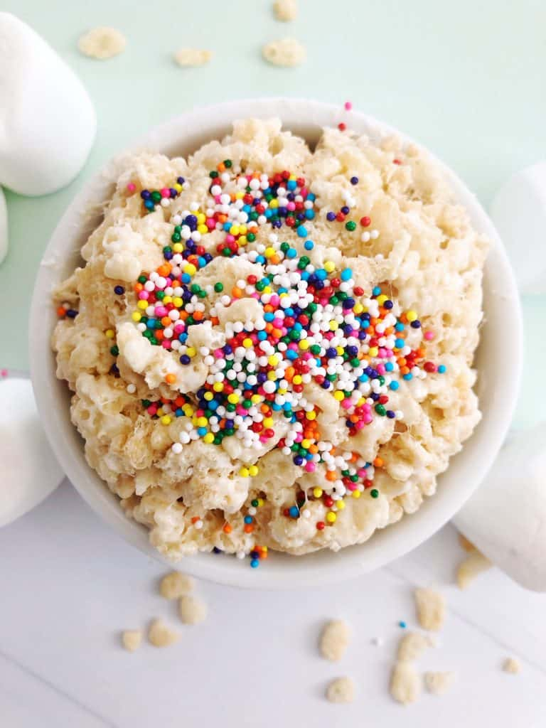 Rice Krispie Treat In A Mug