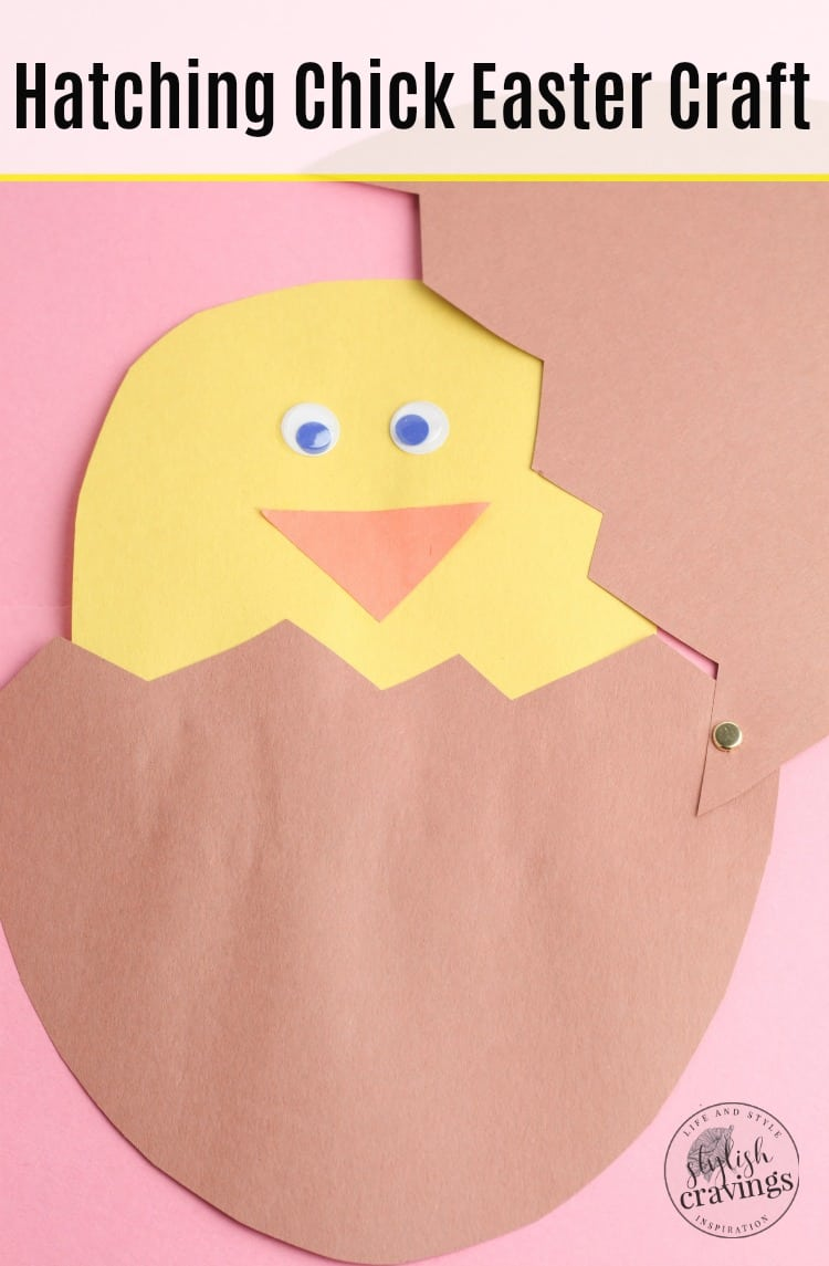 Hatching Chick Easter Craft