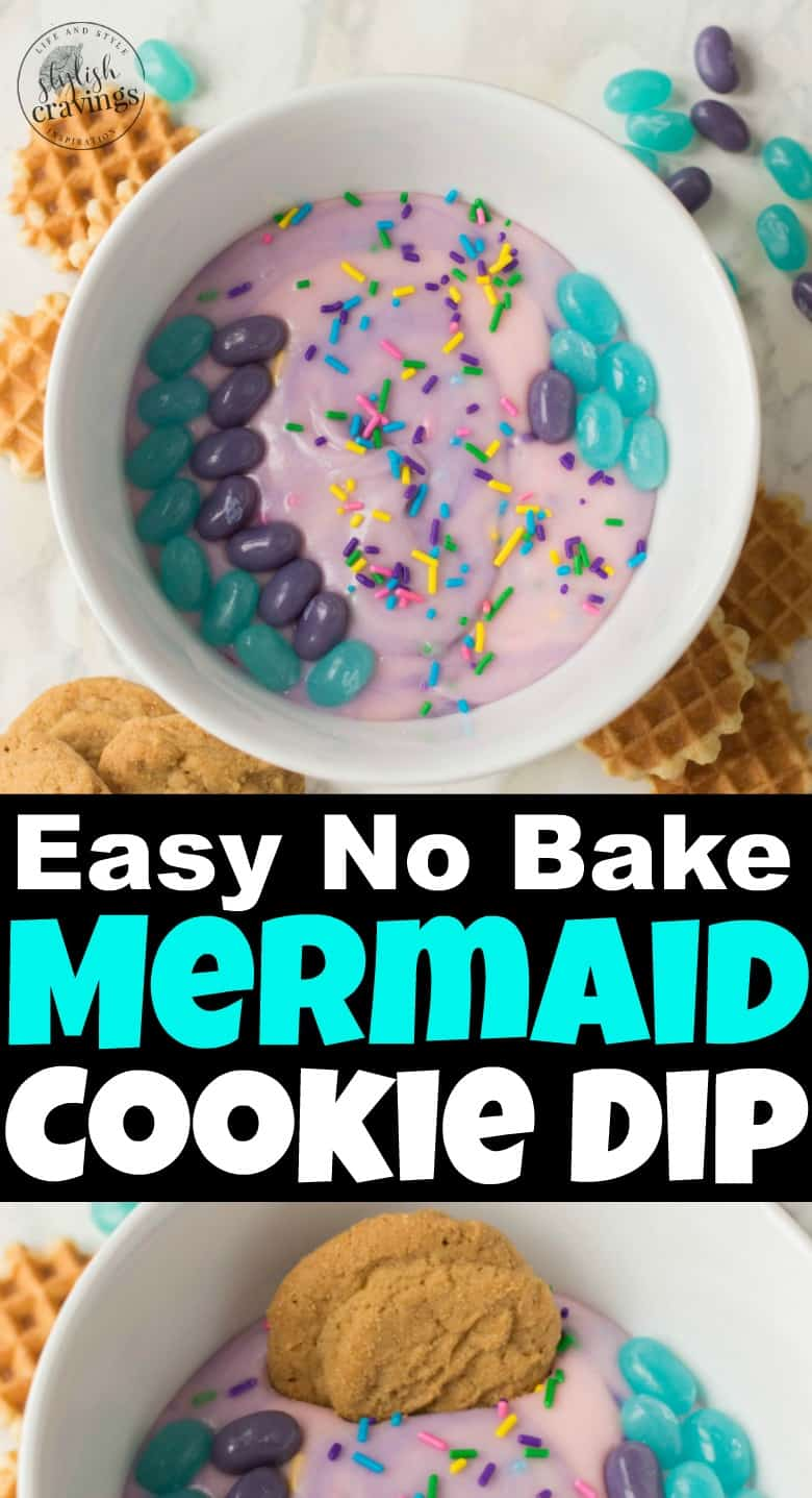 How To Make Mermaid Cookie Dip