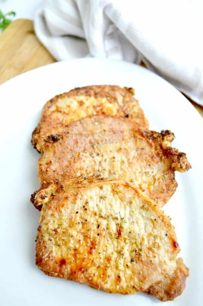 Grilled Pork Chops & Peach Salsa