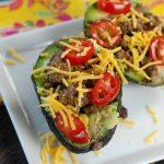 Low Carb Taco Stuffed Avocado