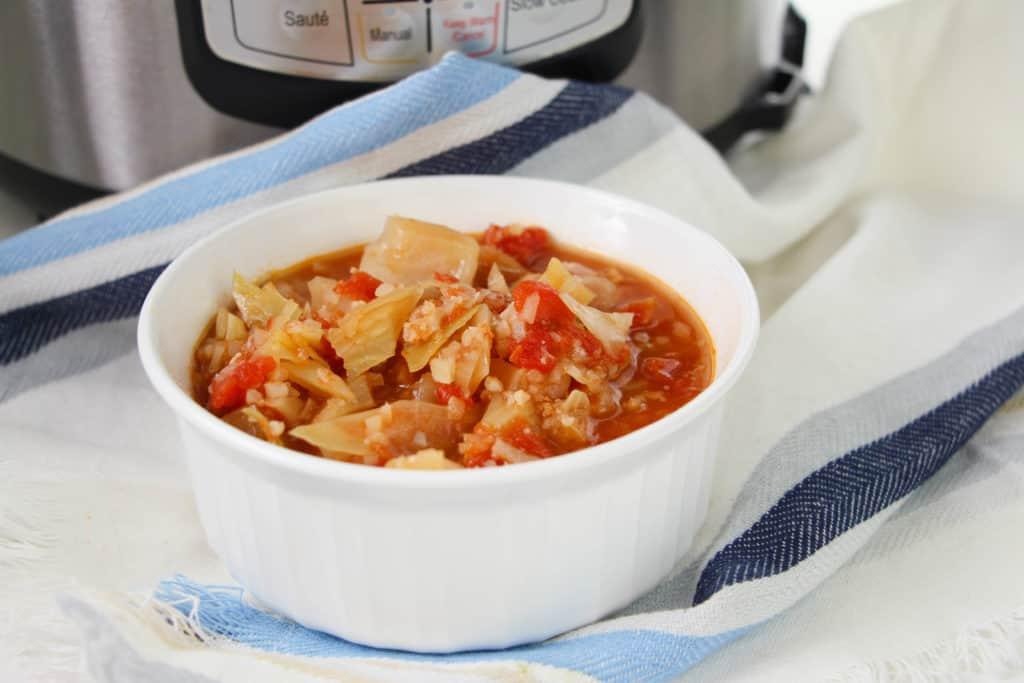 Low Carb Cabbage Soup