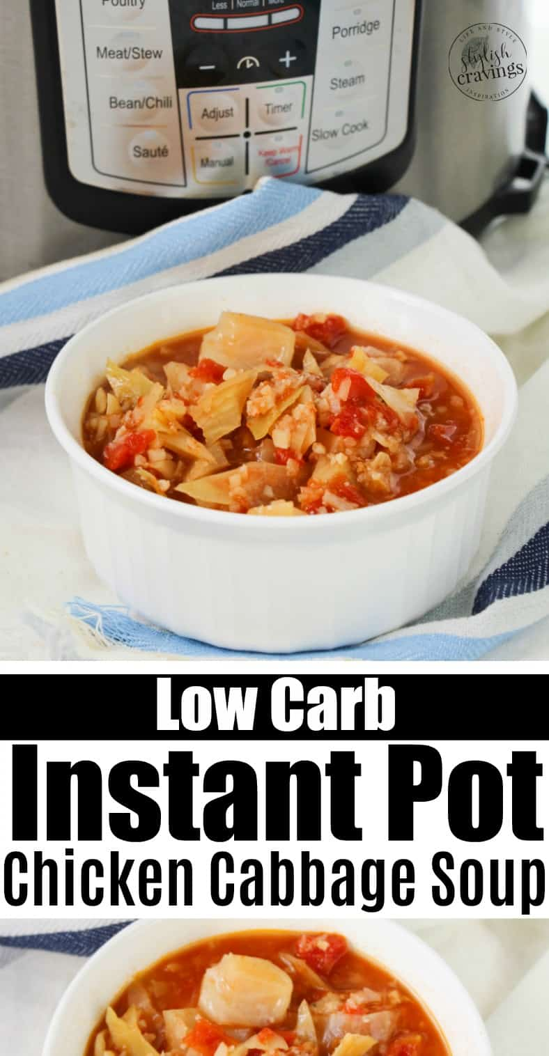 Low Carb Chicken Cabbage Soup