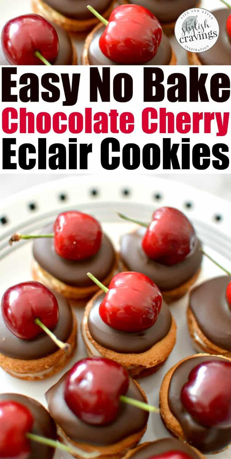 Easy Eclair Cookies